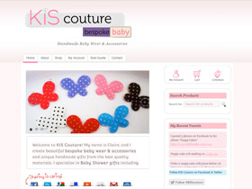 kiscouture web design thumbnail